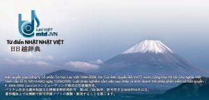 LAC VIET mtd JVN Full Key-Từ điển Việt Nhật-Nhật Việt tốt nhất