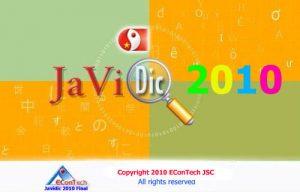 (Google Drive) Javidic 2010 Final – Từ điển Nhật Việt tốt nhất