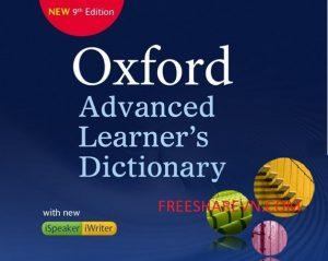 (Google Drive) Oxford Advanced Learner's Dictionary 9th Full-Từ điển toàn diện nhất cho người học tiếng anh