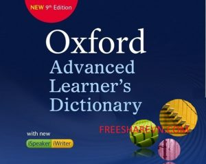 Read more about the article Oxford Advanced Learner's Dictionary 9th Full-Từ điển toàn diện nhất cho người học tiếng anh