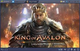 Chơi Game King of Avalon Android cực hay trên PC