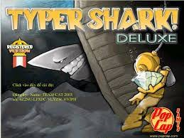 Download Game Typer Shark Deluxe-Game luyện đánh máy