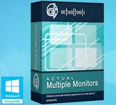 Download Actual Multiple Monitors 8.13 Full-Sử dụng nhiều màn hình trên một máy tính