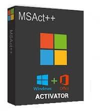 MSAct ++2.07.4 Full – Kích hoạt Windows và Office bản quyền